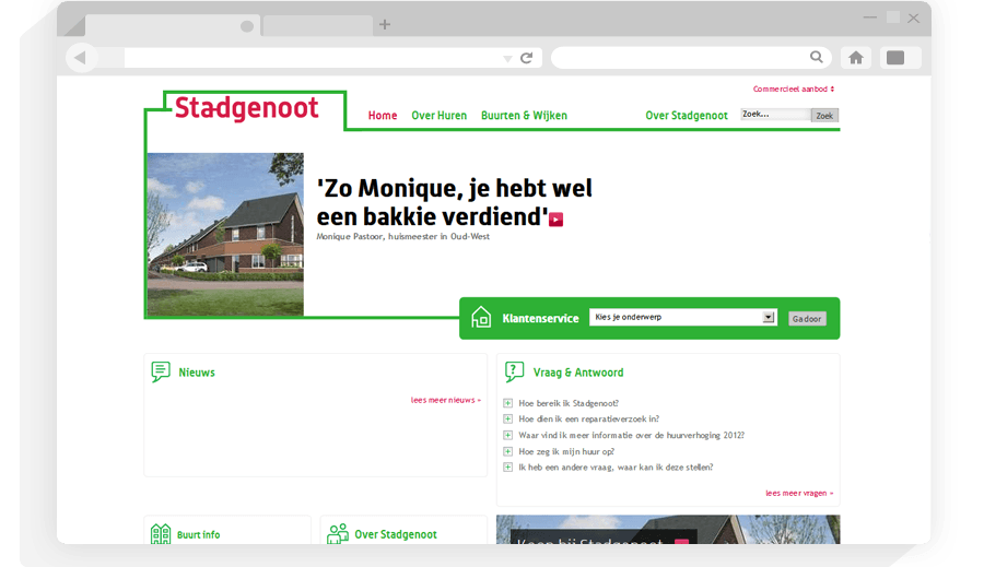Website Stadgenoot
